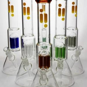 16 Infyniti 7 mm thickness single 8-arm glass water bong