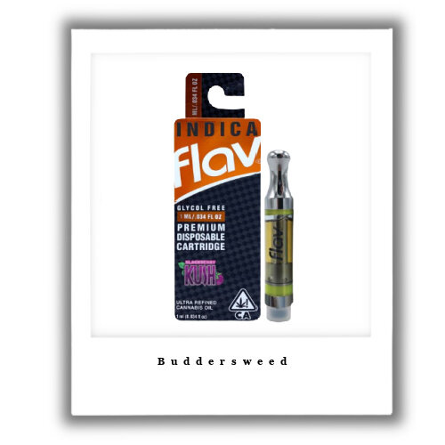 500mg Blackberry Kush Indica Vape Cartridge