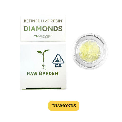 Baked Ella Live Resin Diamonds
