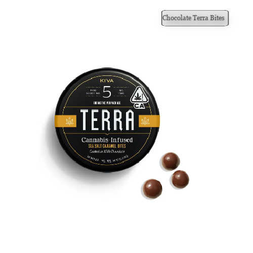 Sea Salt Caramel [20pk] (100mg)-Chocolate Terra Bites USA