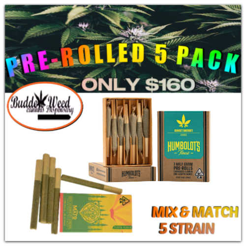 Humboldt Preroll Pack- Mix $ Match
