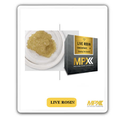 MPX –Live Rosin for sale